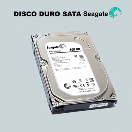 Disco duro Seagate 500 GB