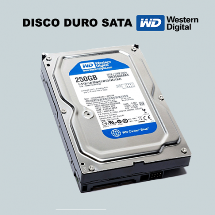 Disco duro Western Digital 250GB