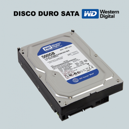 Disco duro Western Digital 500GB