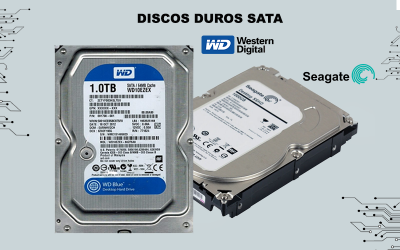 Discos duros Seagate - Western Digital