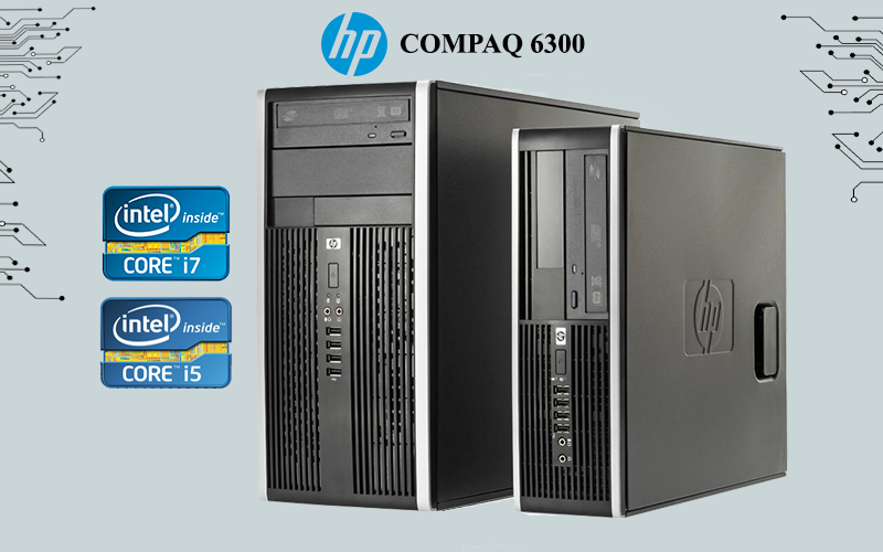 Hp compaq 6300 i5-i7