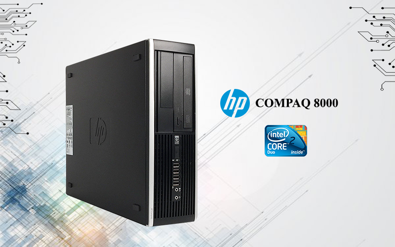 Hp Compaq 8000 Core2 Duo