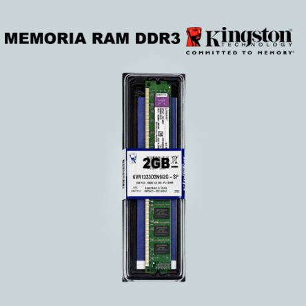 Memoria Kingston DDR3/2GB