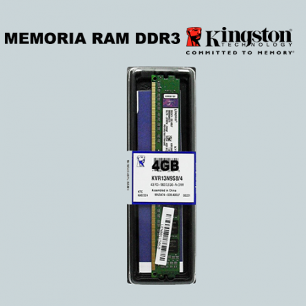 Memoria Kingston DDR3/4GB