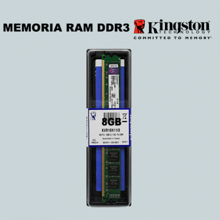 Memoria Kingston DDR3/8GB
