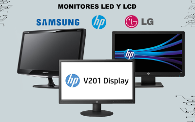 Monitores Hp-Samsung-Lg