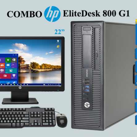 Combo Hp EliteDesk 800 G1 i7