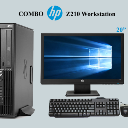 Combo Hp Z210 Workstation i3
