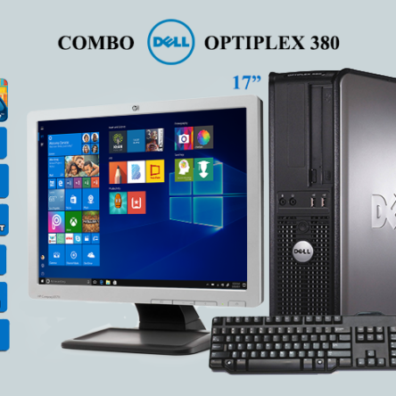 Combo Dell Optiplex 380 C2D