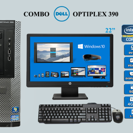 Combo Dell Optiplex 390 i5