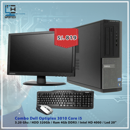 Combo Dell Optiplex 3010 i5