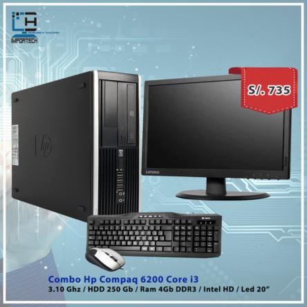 Combo Hp Compaq 6200 i3