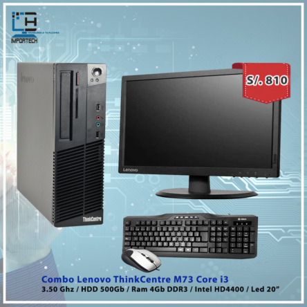 Combo Lenovo ThinkCentre M73 i5