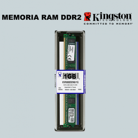 Memoria Kingston DDR2/1GB
