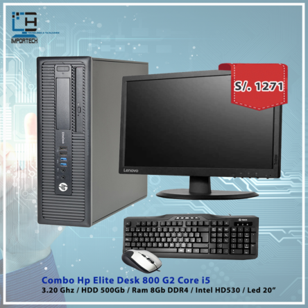 Combo Hp EliteDesk 800 G2 i5