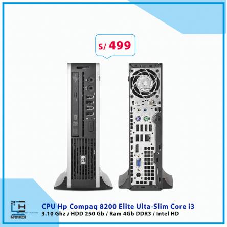 CPU Hp Compaq 8200 Elite Ulta-Slim Core i3