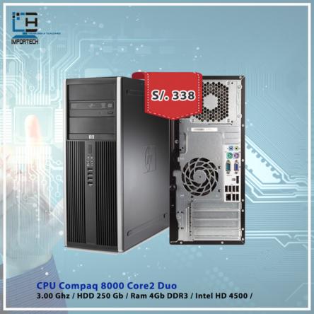 CPU Hp Compaq 8000 C2D