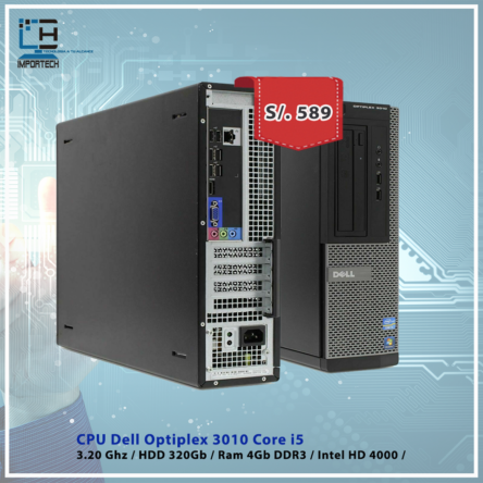 CPU Dell Optiplex 3010 i5
