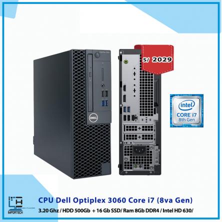 CPU Dell Optiplex 3060 Core i7