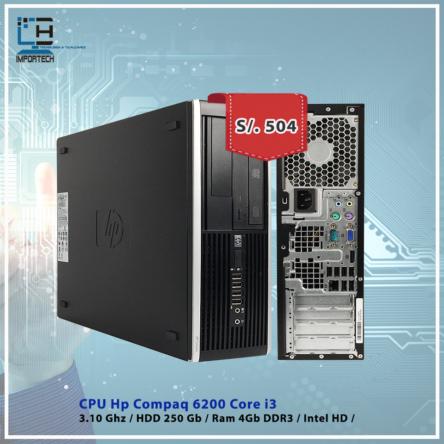 CPU Hp Compaq 6200 i3