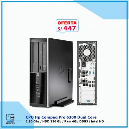 CPU Hp Compaq Pro 6300 Dual Core