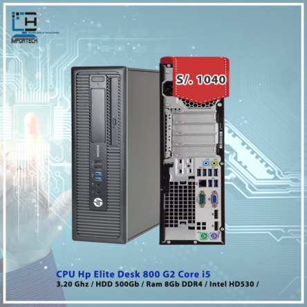 CPU Hp EliteDesk 800 G2 i5